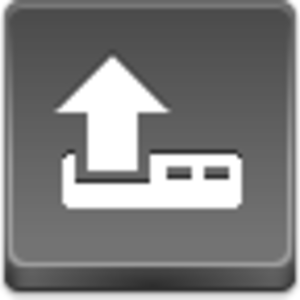 Free Grey Button Icons Upload Image