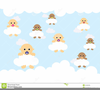 Baby Boy Angel Clipart Image