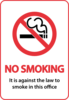 No Smoking Sign Clip Art