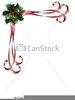 Christmas Borders Lines Free Clipart Image