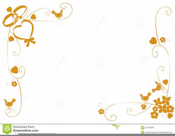wedding program border clipart free images at clker com vector