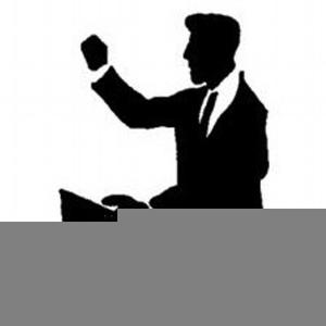 Clipart Preachers Image