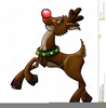 Free Clipart Of Rudolph The Red Nosed Reindeer Image