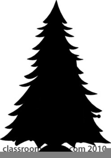 Simple Christmas Tree Drawing