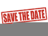 Clipart Save The Date Image