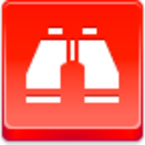 Free Red Button Icons Binoculars Image
