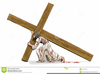 Christ Carrying The Cross Clipart Image