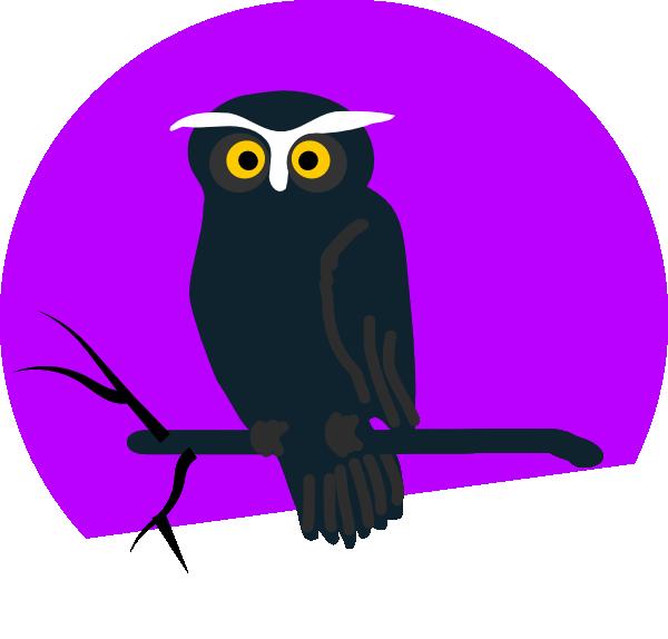 Halloween Owl Clip Art at Clker.com - vector clip art online ...