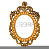 Free Gold Picture Frame Clipart Image