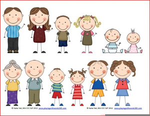 Free Clipart Family Members Free Images At Clker Com Vector Clip