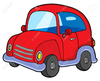 Green Volkswagon Beetle Car Clipart Image