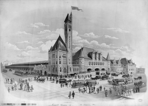 Grand Union Station, St. Louis, Mo. Image