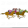 Horse Racing Track Clipart Image
