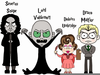 Harry Potter Characters Clipart Image