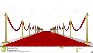 Clipart Of Hollywood Red Carpet Image