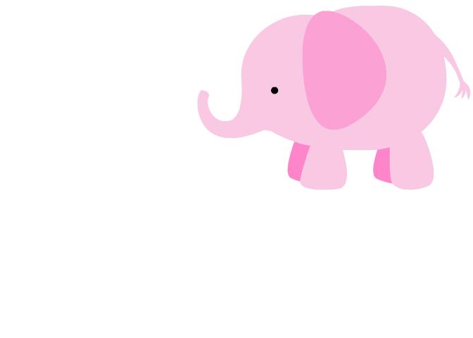 clip art pink elephant - photo #16