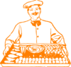 Chef Orange Clip Art