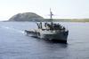 Uss Juneau At Sea Off The Coast Of Iwo Jima Image