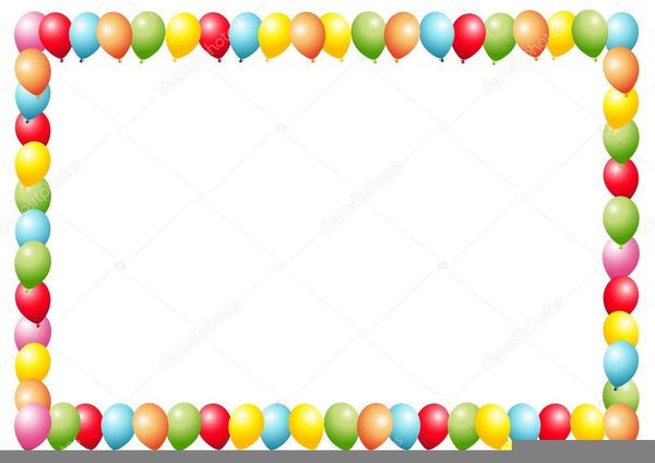 Balloon Borders Clipart | Free Images at Clker.com ...