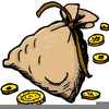 Clipart Of Grain Bags Image
