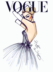 Vogue Drawing Tumblr Free Images At Clker Com Vector Clip Art