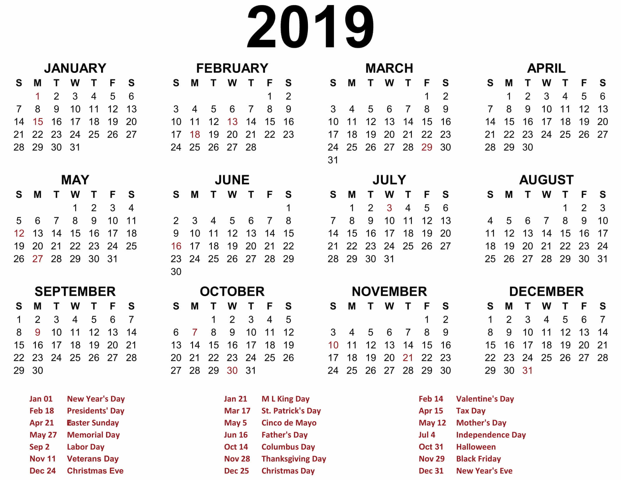 Annual Calendar Template   Annual Calendar Template Free Images At Clker Com Vector Clip