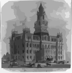 City Hall, Detroit Clip Art