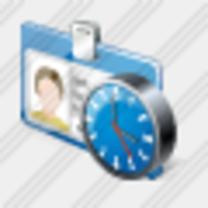 Icon Badge Clock Image