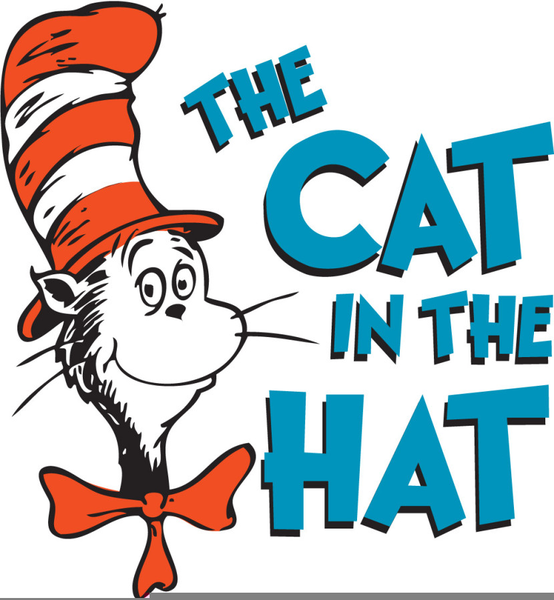 Cat In The Hat Clipart: Dr Seuss Cat In The Hat Clipart