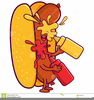 Animated Hot Dog Clipart Image