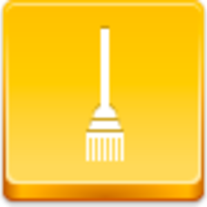 Free Yellow Button Broom Image