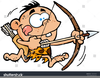 Bow And Arrow Hunting Clipart Image