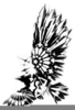 Native American Raven Clipart Image