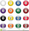 Pool Balls Clipart Image