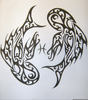 Pisces Tribal Tattoos Image