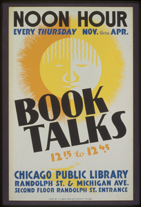 Book Talks, 12:15 To 12:45 Noon Hour, Every Thursday Nov. Thru Apr. Image