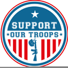 Support The Troops Clipart Image
