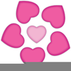 Hearts And Roses Clipart Image