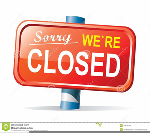 Closed Clipart Image