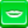 Free Green Button Hollywood Smile Image