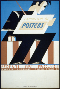 Exhibition Of Posters - Federal Art Project Works Progress Administration Image