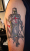 Crusader Knights Tattoos Image
