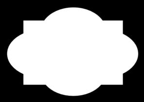 Black Frame Simple Clip Art