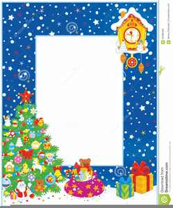 Christmas Border Clip Art.Vertical Christmas Border Clipart Free Images At Clker Com