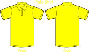 polo shirt red clip art at clkercom vector clip art