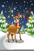 Animated Clipart Of Reindeer Image