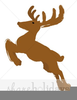 Flying Raindeer Clipart Image