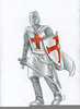 Templar Knight Drawing Image