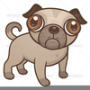 Rescued Dog Clipart Image