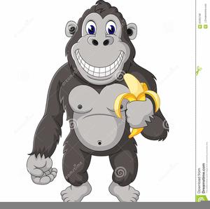funny gorilla clipart free images at clker com vector clip art rh clker com gorilla clipart black and white free gorilla clipart free
